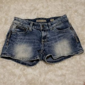 BKE Denim Payton Shorts size 26